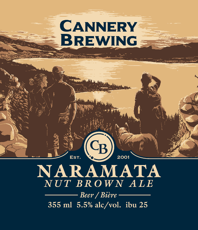 Naramata Nut Brown Beer