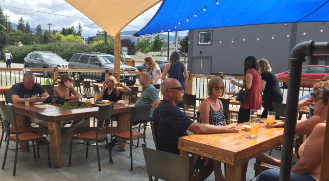 Cannery Brewing's Patio